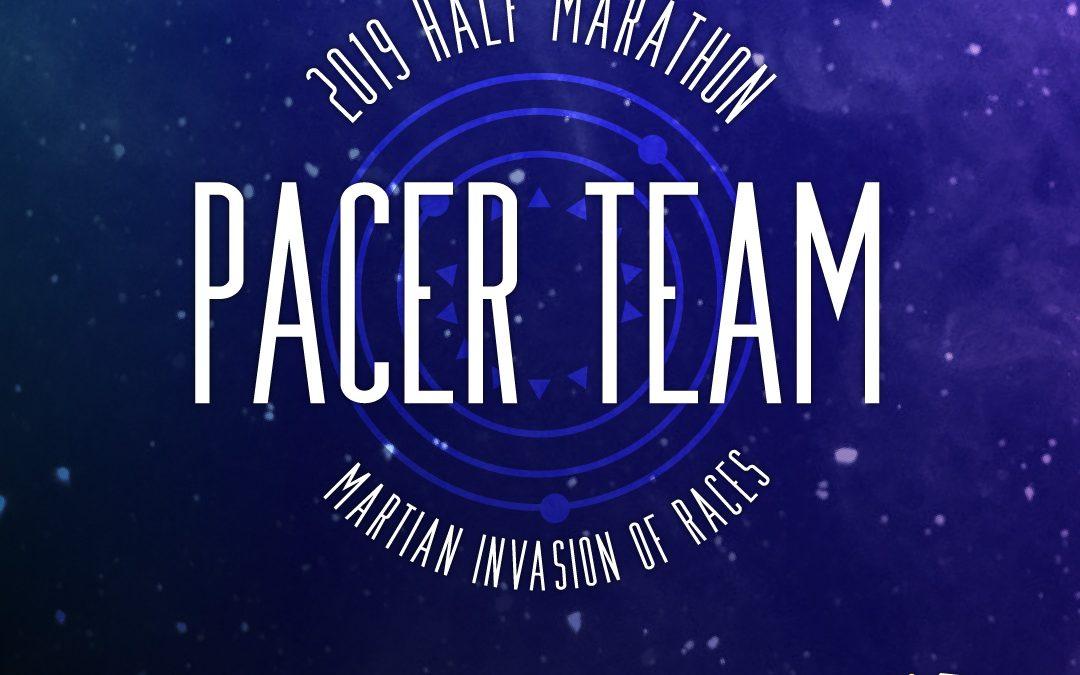 1/2 marathon pacer team