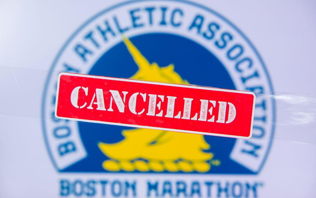 marathon cancelled by COVID-19