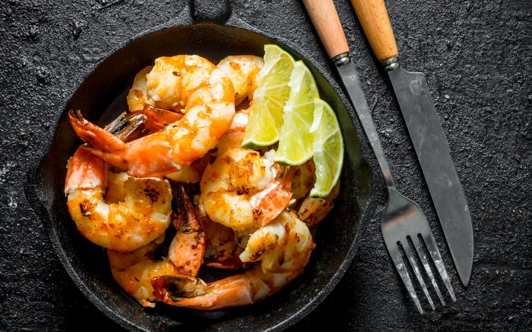 Stay At Home and Staying Healthy; Chili Lime Shrimp