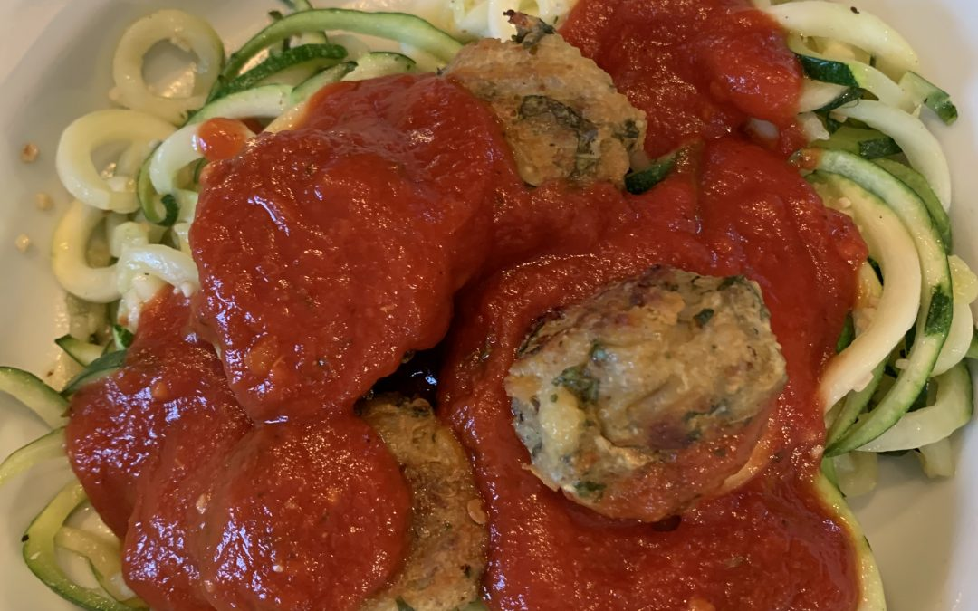 Eggplant Meatball Recipe; Meatless Weekdays